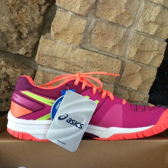 info for d651d c5862 NEW Asics Gel Solution Slam 3 Berry Athletic Shoe